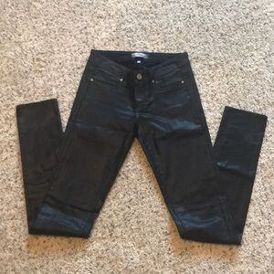 Paige jeans size 25 Black with wash